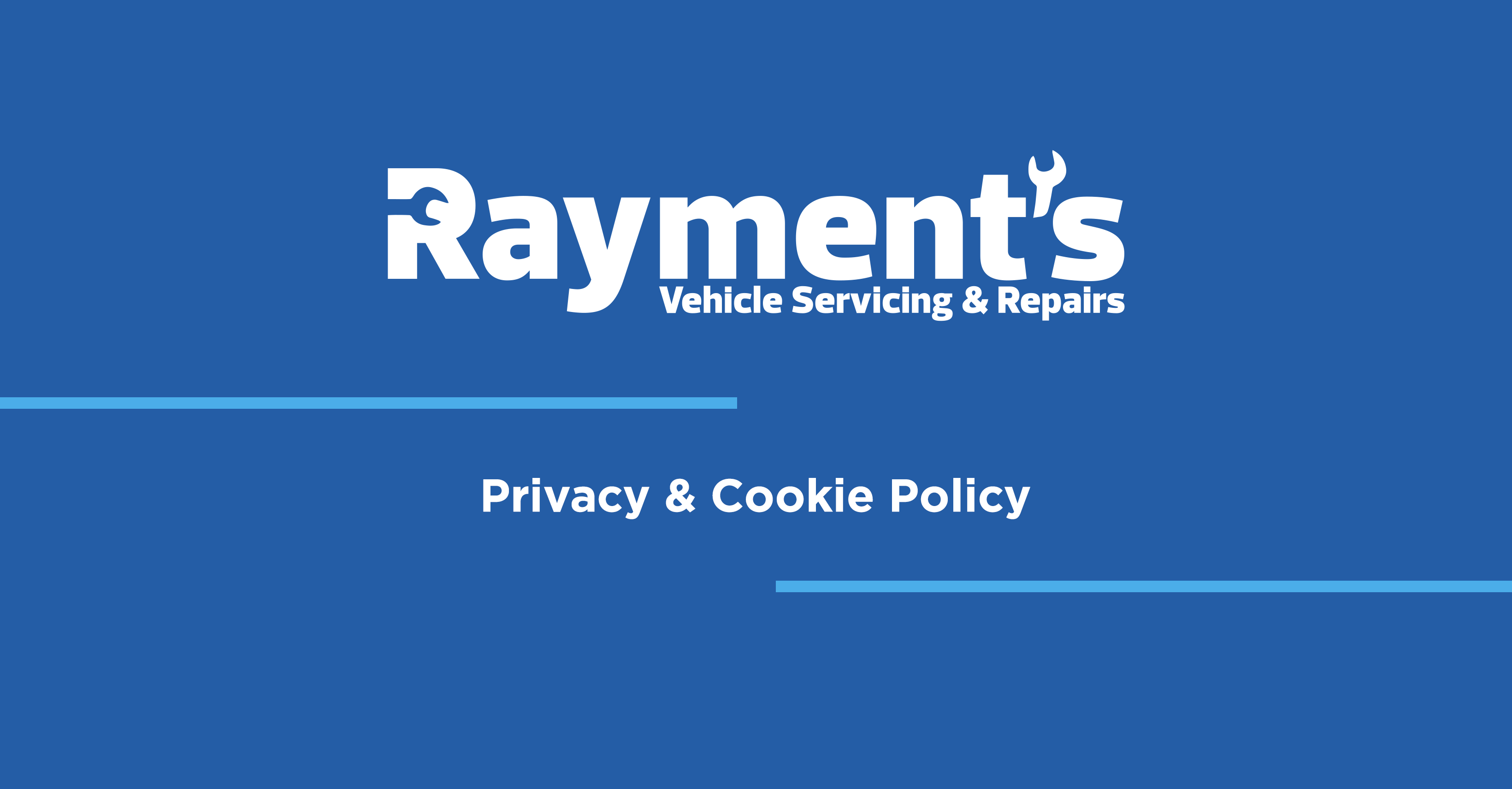 Privacy + Cookie Policy