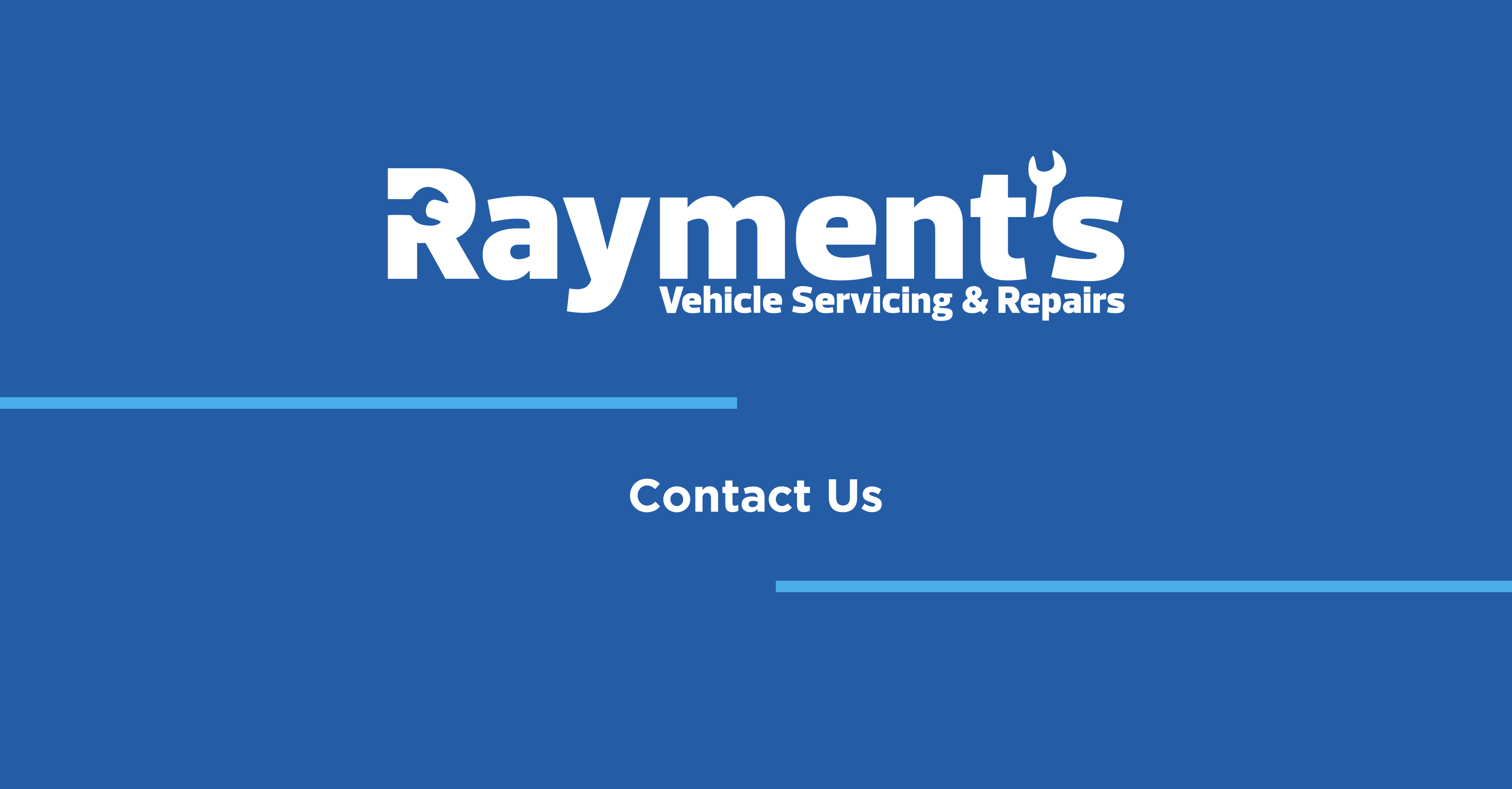 Contact Rayment's Vehicle Servicing and Repairs